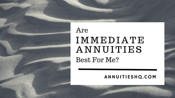 immediate annuities definition