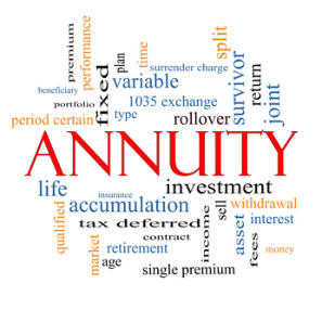 kinds of annuities