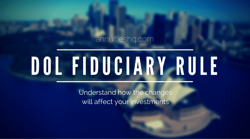 new fiduciary rules from department of labor