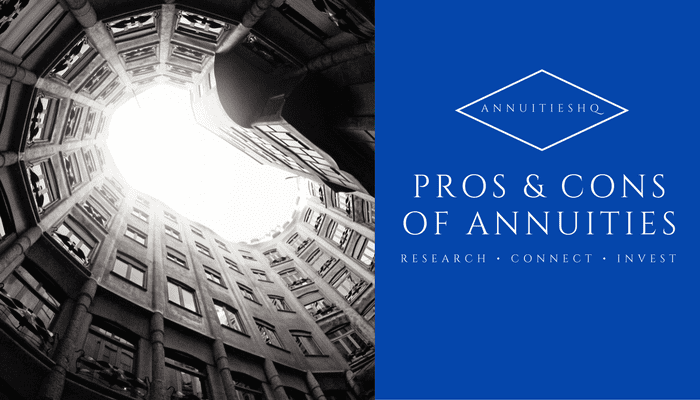 annuity pros and cons