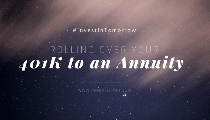 401k rollover to annuity