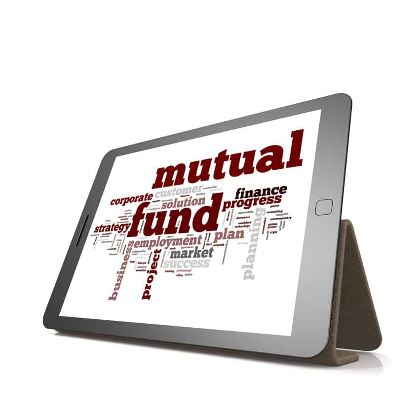 Annuities vs Mutual Funds - Tablet with Mutual Fund on screen